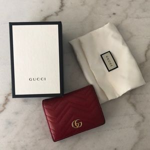 Authentic Gucci Marmont Wallet
